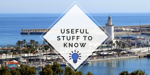 useful things to know in Malaga