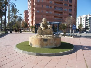 Sculptures on Malaga walking tour
