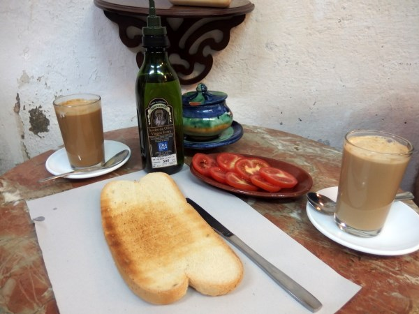 Breakfast on a budget in Malaga