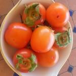 caqui fruits in Malaga