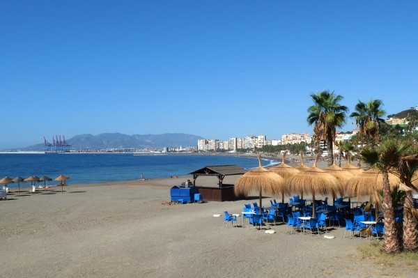Visit Malaga for autumn beach time