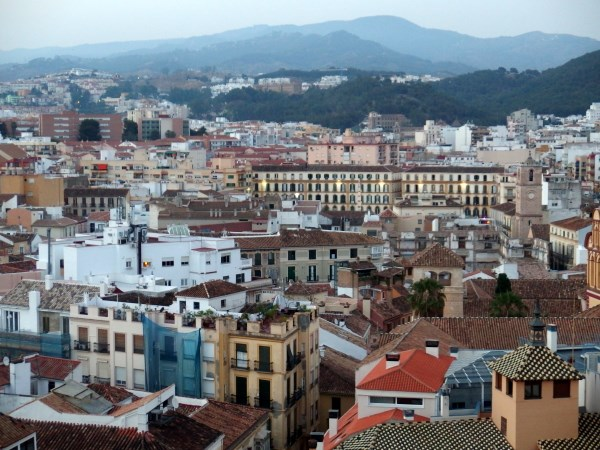 Getting around Malaga city centre by car is a challenge