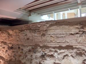 Roman walls in Malaga