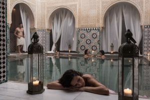 richly decorated spa in Malaga