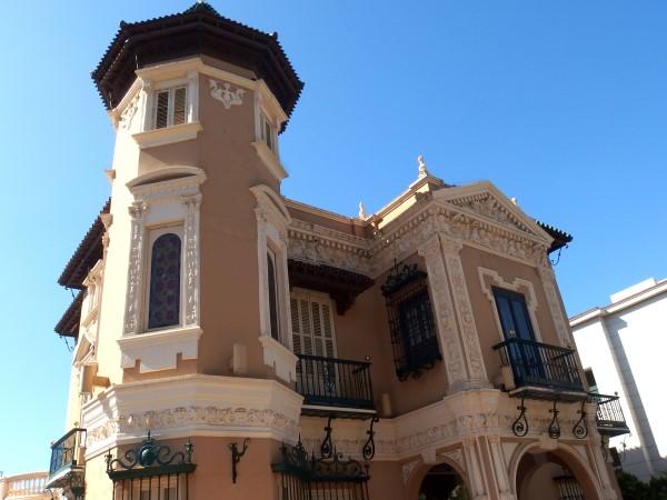 palaces on Malaga walking tour
