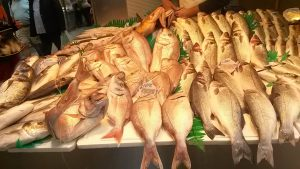 fresh fish at Malaga markets