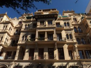 Fine palaces on Malaga walking tour