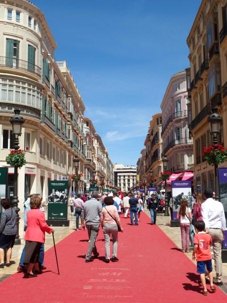 Calle Larios in Malaga