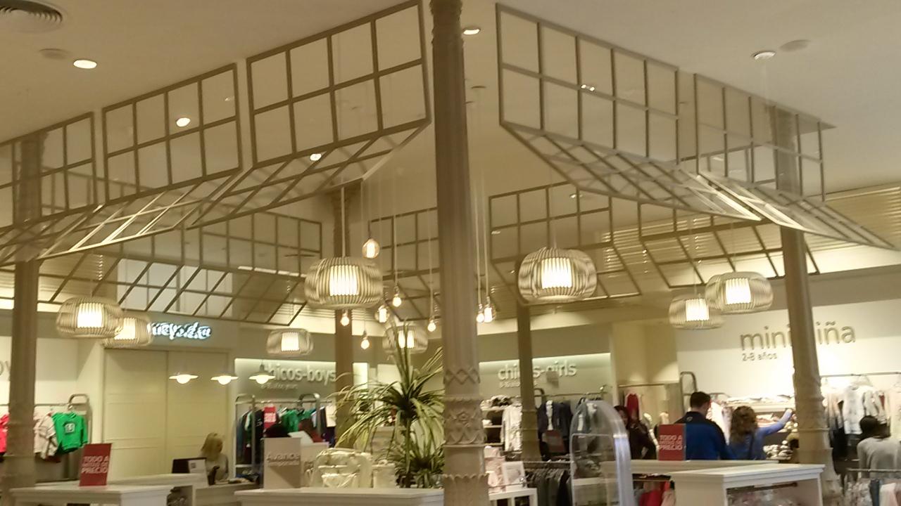 shop architecture in Malaga