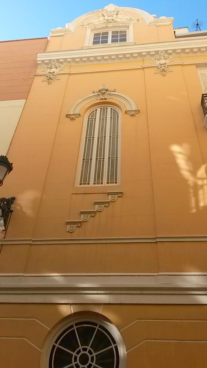 Inside architecture in Malaga