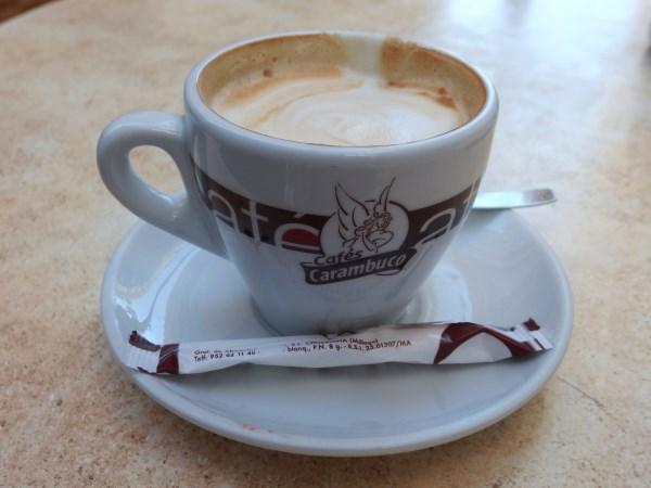 coffee in Malaga