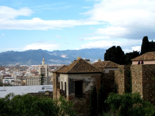 living in Malaga the views