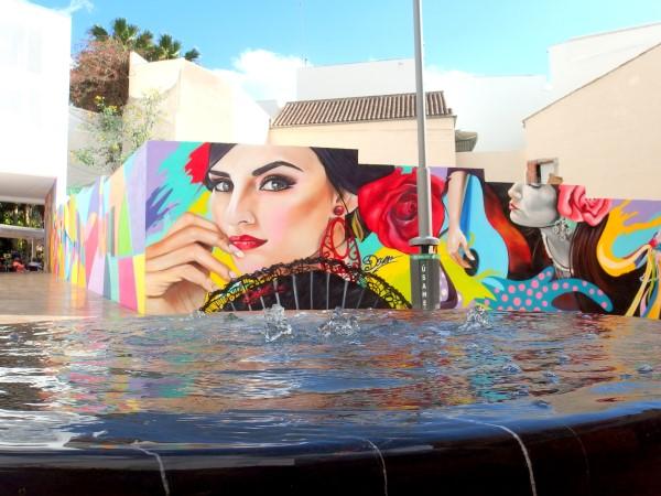 street art in Malaga