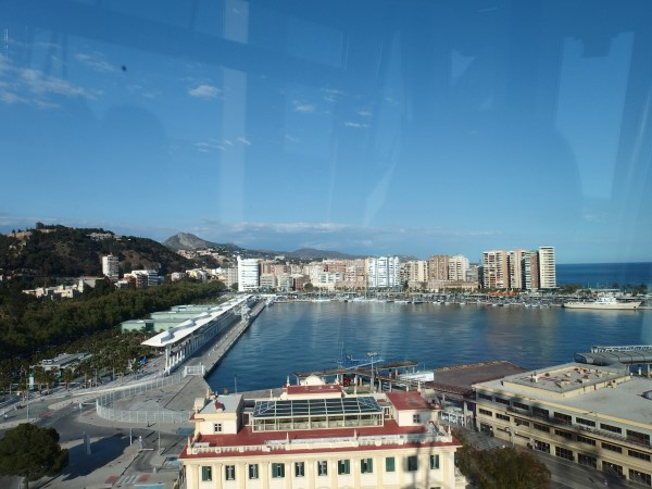 views in Malaga