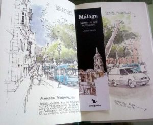 best sketch books about Malaga