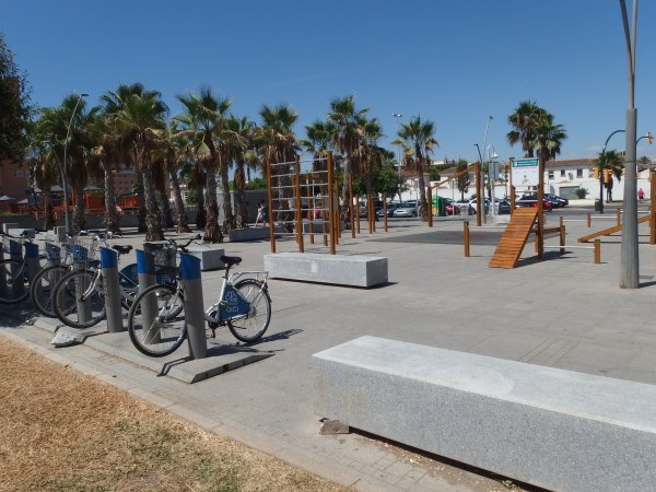 Keep fit on the beach in Malaga