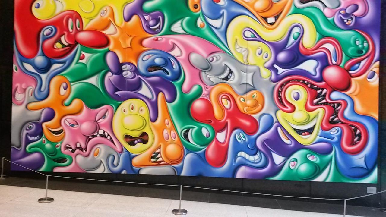 finding Malaga in New York art