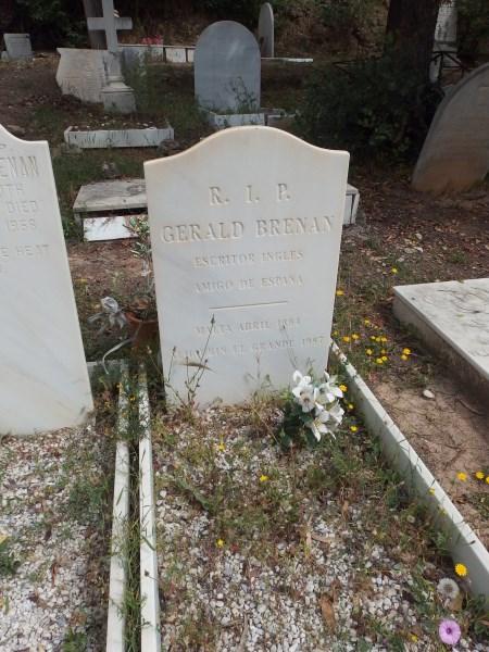 gerald brenan's grave in Malaga