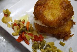 Best vegetarian tapa in Malaga
