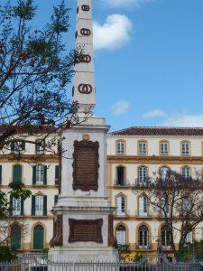 favourite squares in Malaga