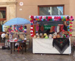 Malaga Fair stalls