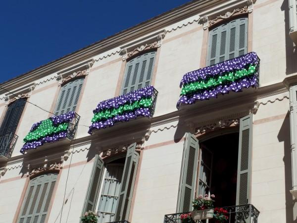 Malaga Fair decorations