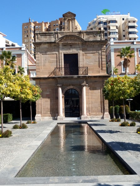 Malaga destination guide La Malagueta chapel