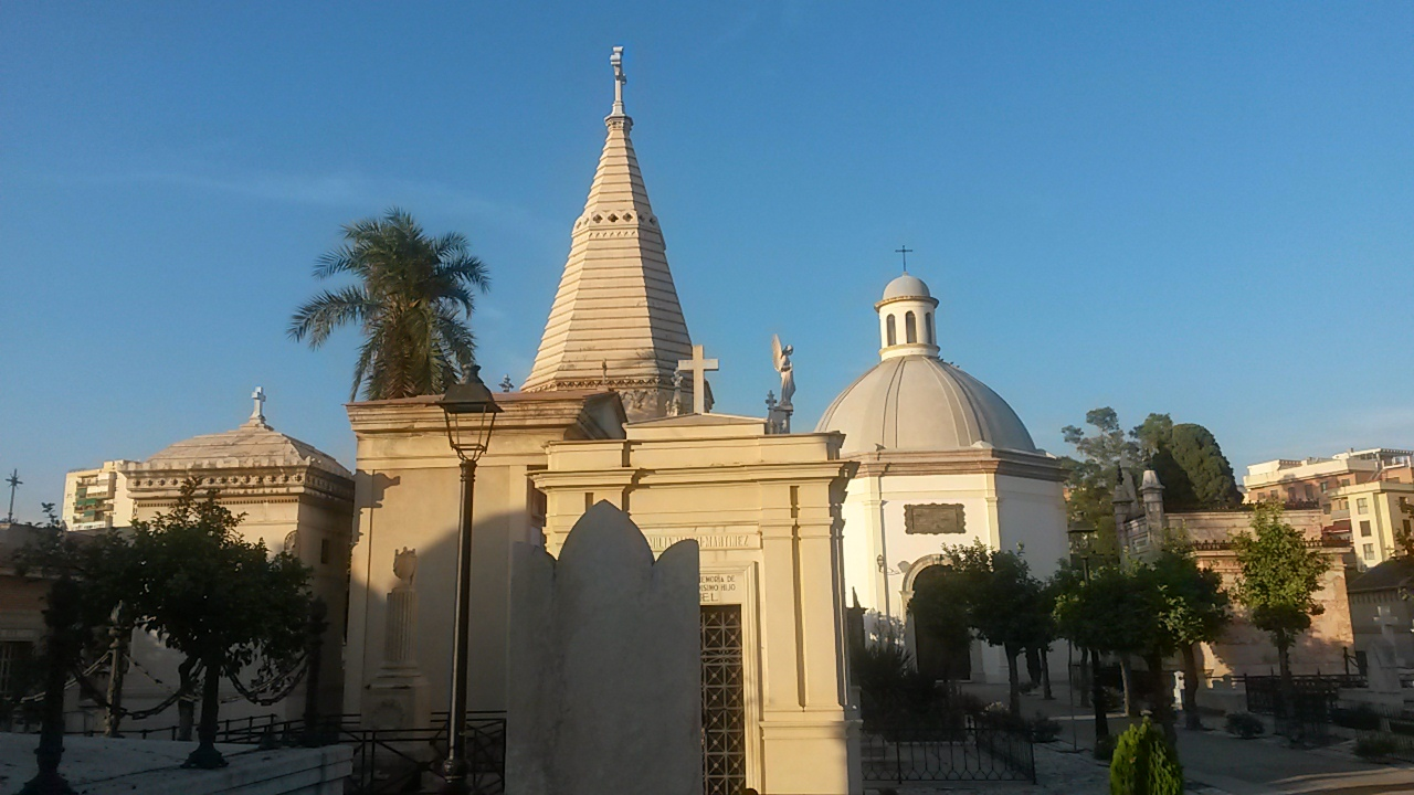 funerary architecture in Malaga