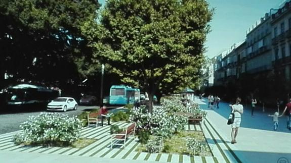 pedestrian friendly Malaga