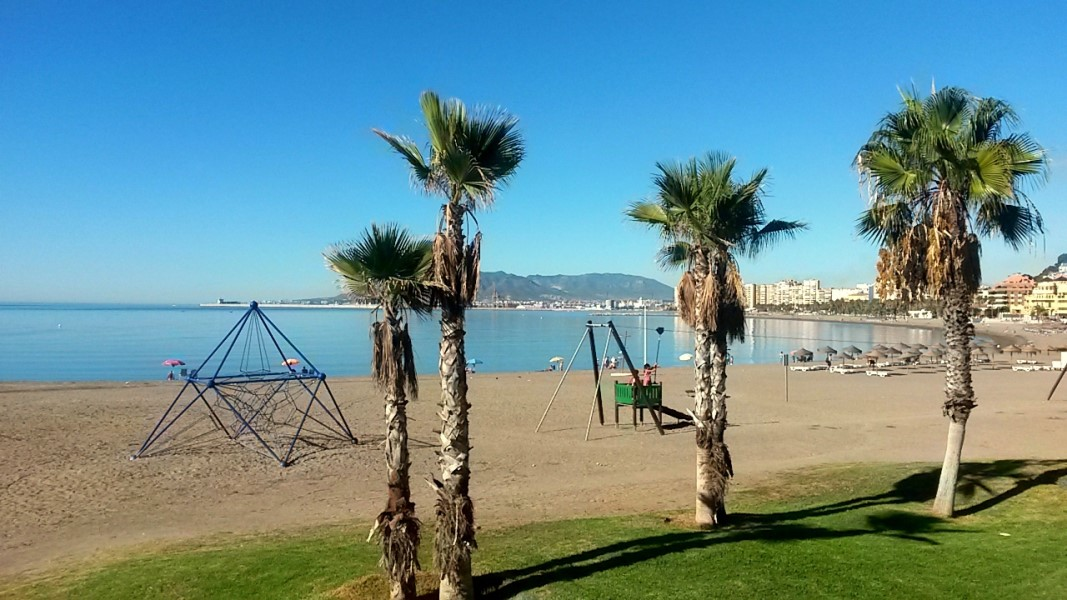 beaches in Malaga