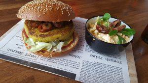 vegan gourmet burgers in Malaga