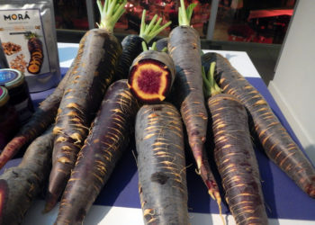 Typical things to eat in Malaga include purple carrots