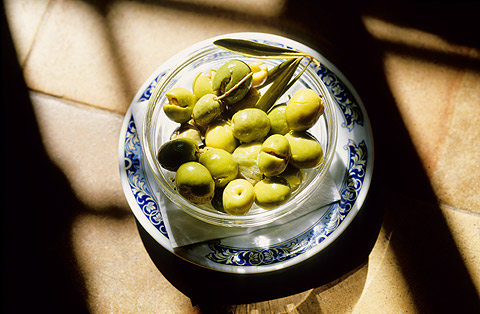 olives are typical things to eat in Malaga