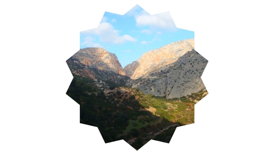 Axarquia mountains in Malaga