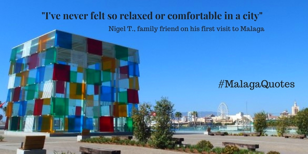 be relaxes when you visit Malaga