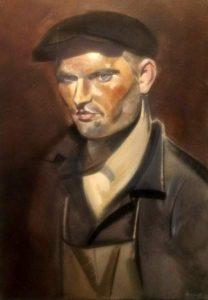 Portrait of the Blacksmith S Petrau by Israil Lizak