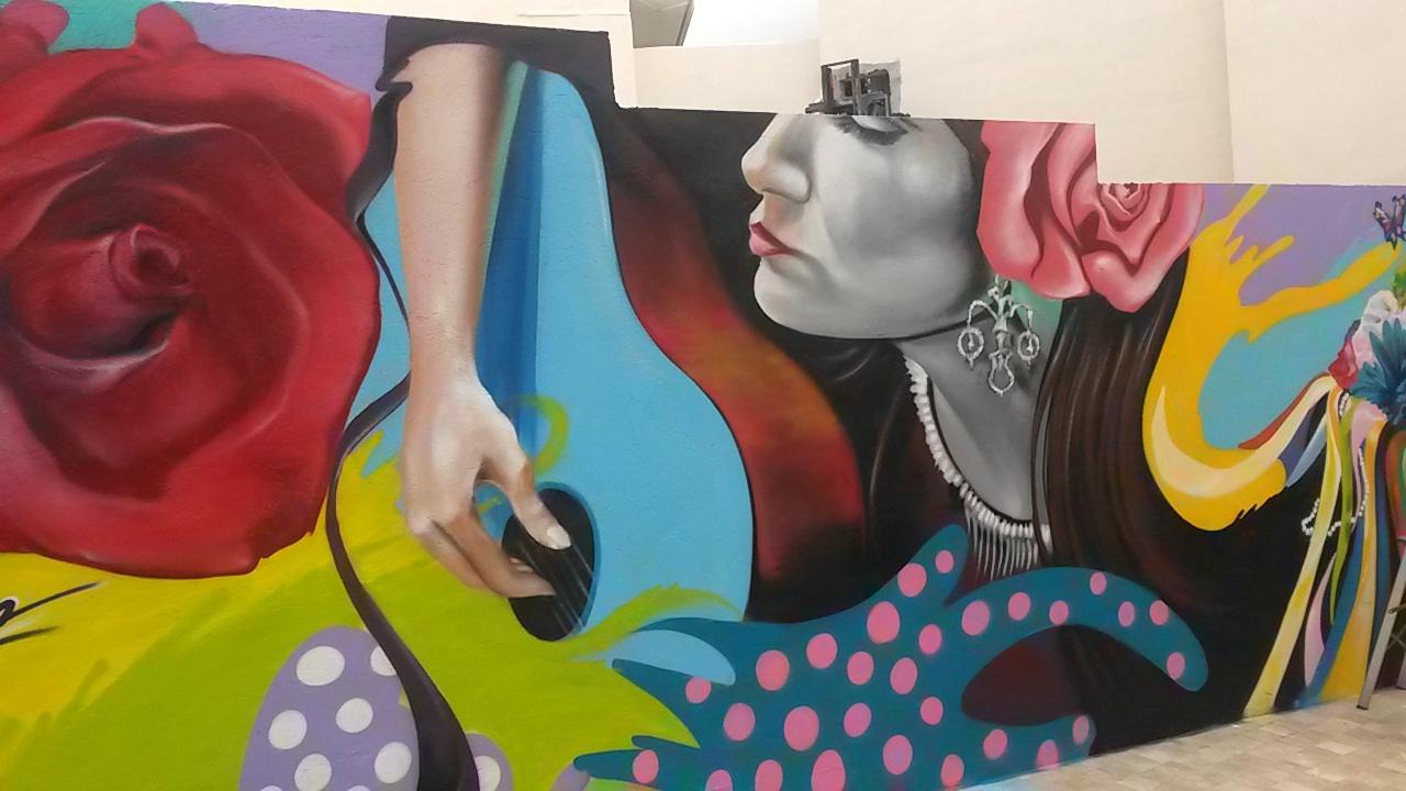 visit malaga for its street art