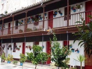 patios in Malaga detail