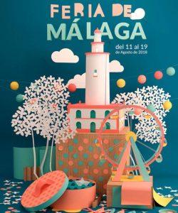 Malaga fair 2018 poster