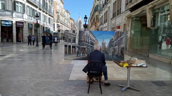 A pedestrian-friendly holiday in Malaga