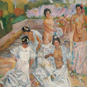 Iturrino art in Malaga
