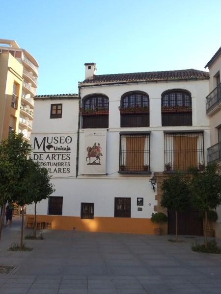 Museo artes y costumbres Malaga
