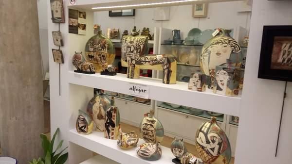 ceramics for Malaga souvenirs