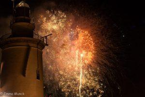 fireworks in Malaga