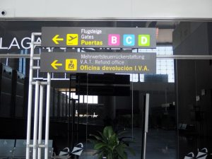 guide to Malaga airport facilities