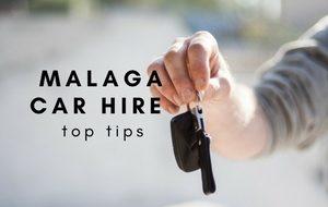 getting the keys for a Malaga rental car