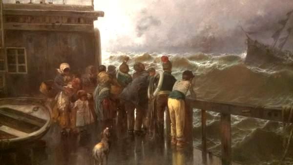 oil paintings at Museo Carmen Thyssen Malaga