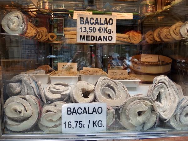 Malaga food shopping