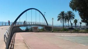 bike rides in Malaga in El Palo