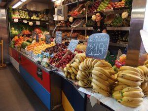 Inside Atarazanas market